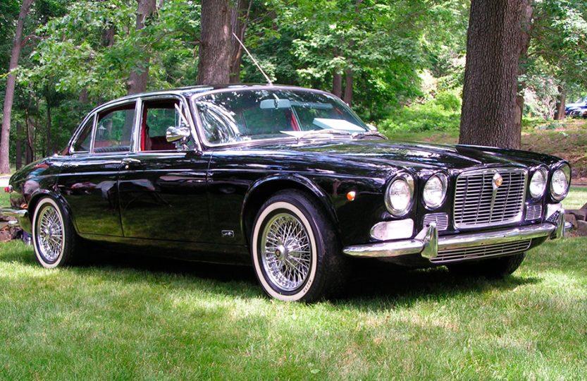 Стильный Jaguar XJ6 - 1968