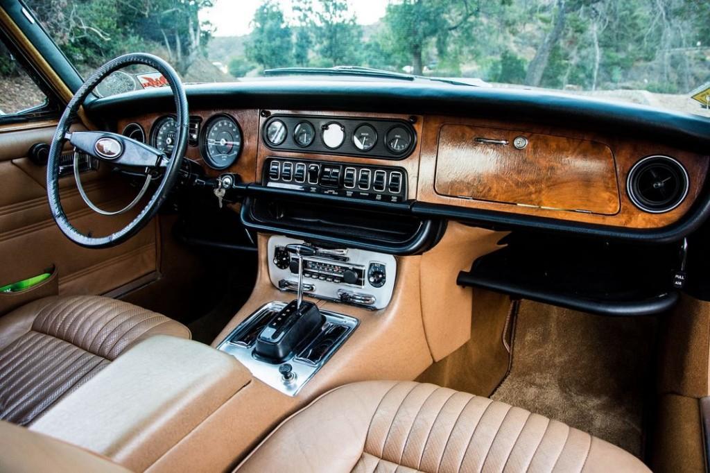 Салон Jaguar XJ6