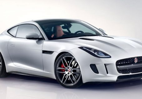 Испытание Альпами - Jaguar F-Type