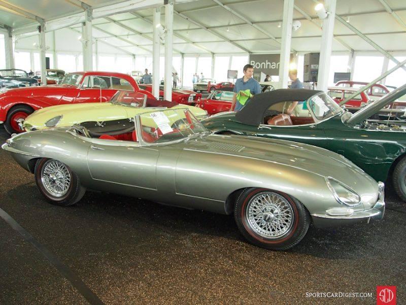 Jaguar на аукционе