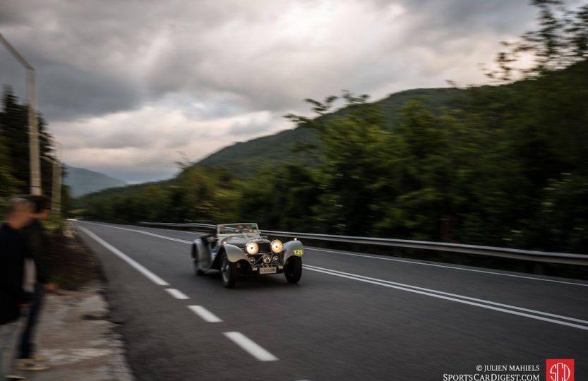 Jaguar и гонка Mille Miglia