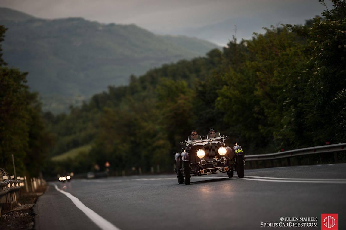 Jaguar и соревнование Mille Miglia