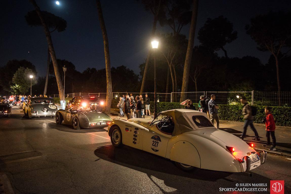 Jaguar racing Mille Miglia