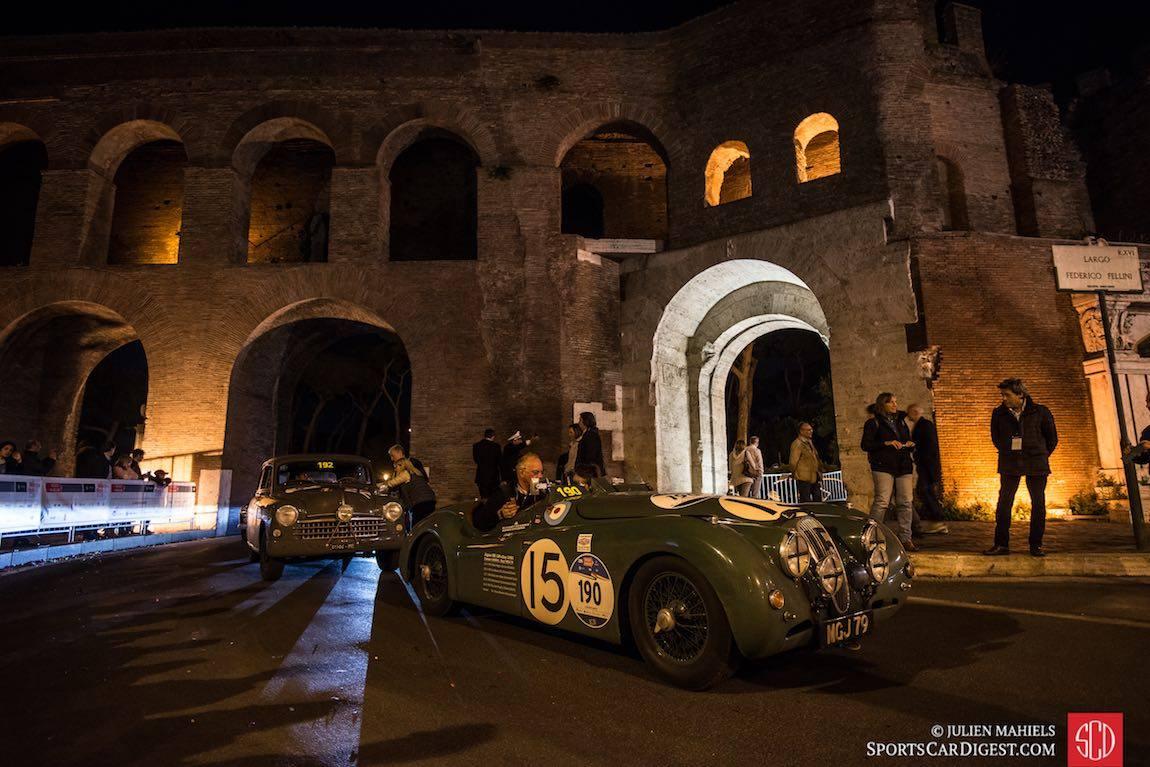 Гонка Mille Miglia и Jaguar