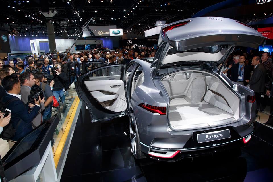 Jaguar Show - I-PACE