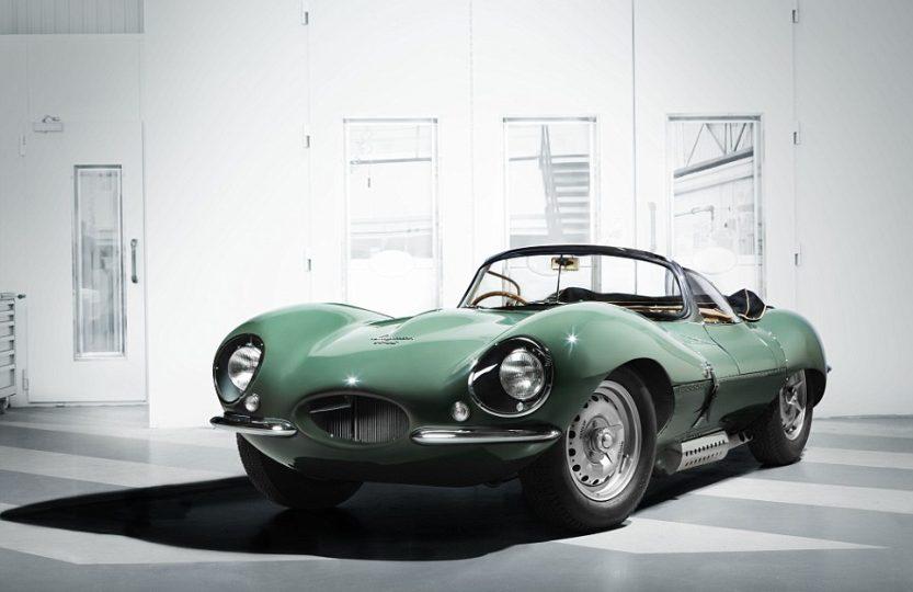 Возвращение легендарного Jaguar XKSS
