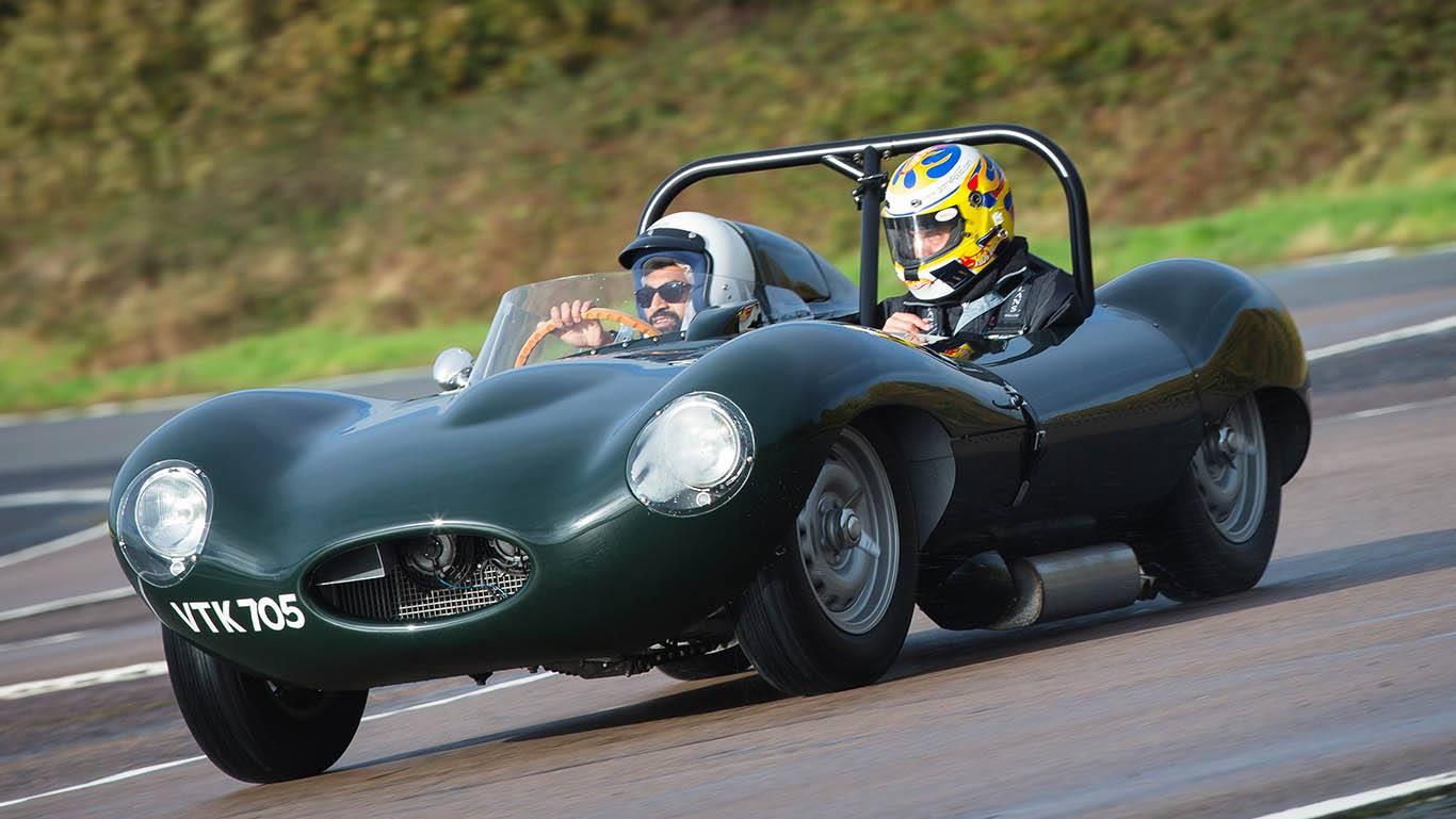 Jaguar из автомобильного музея Британии