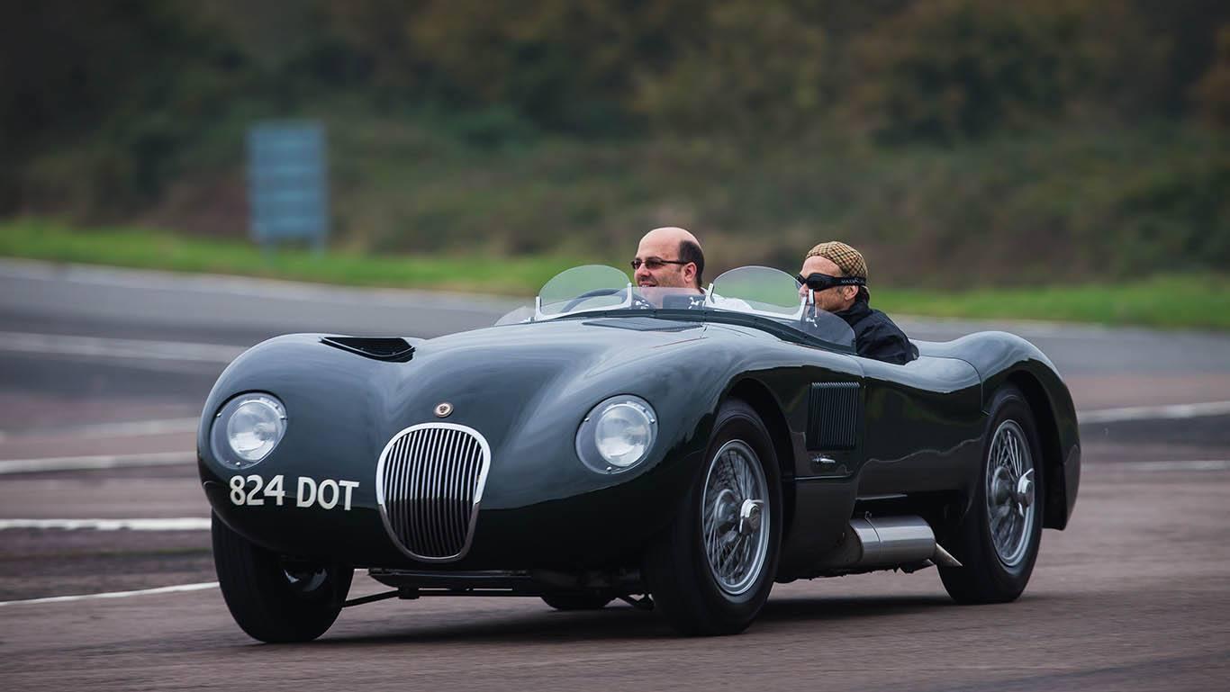 Автомобильный музей Британии - Jaguar C-Type