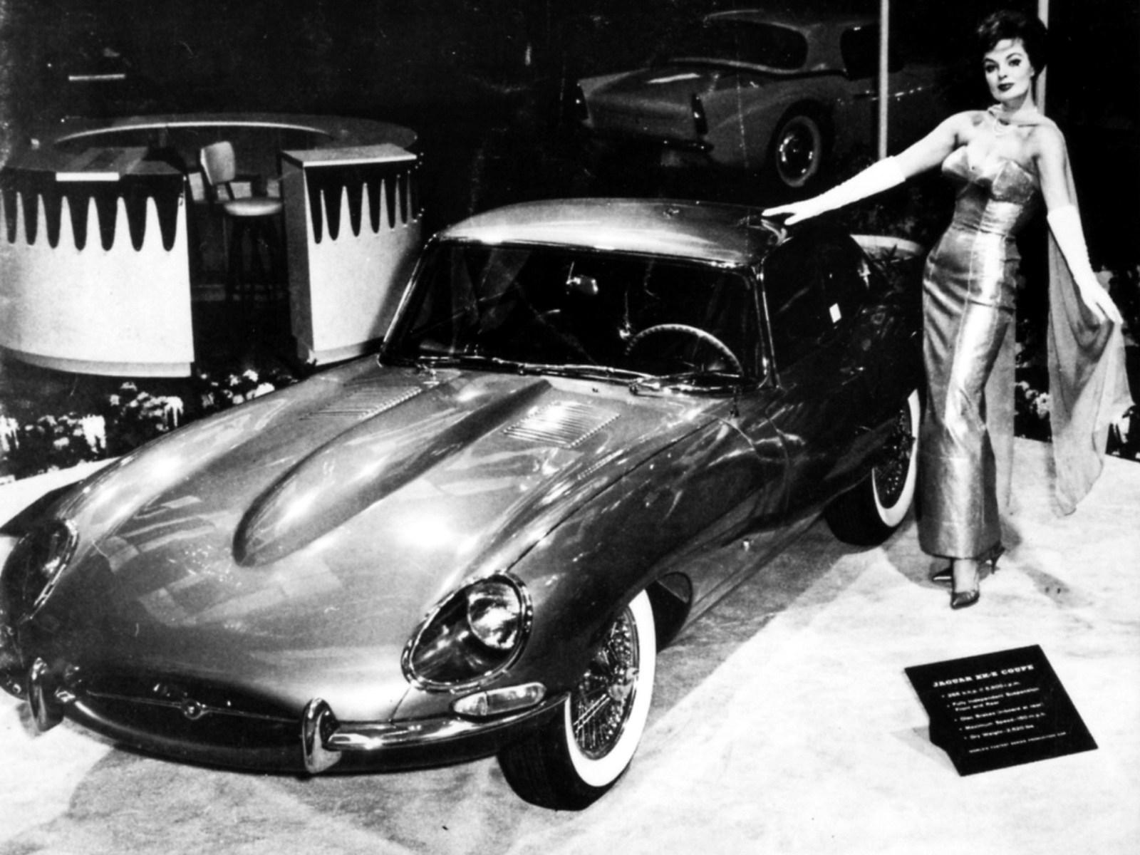 1961 Intro of E-Type, New York Auto Show