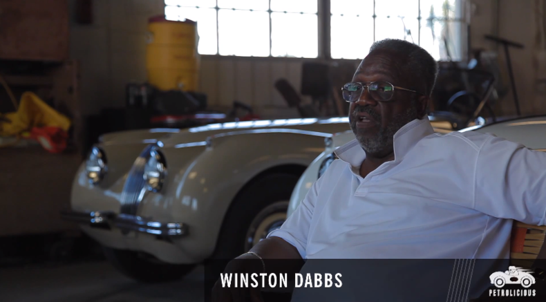 Уинстон Даббс и Jaguar XK140