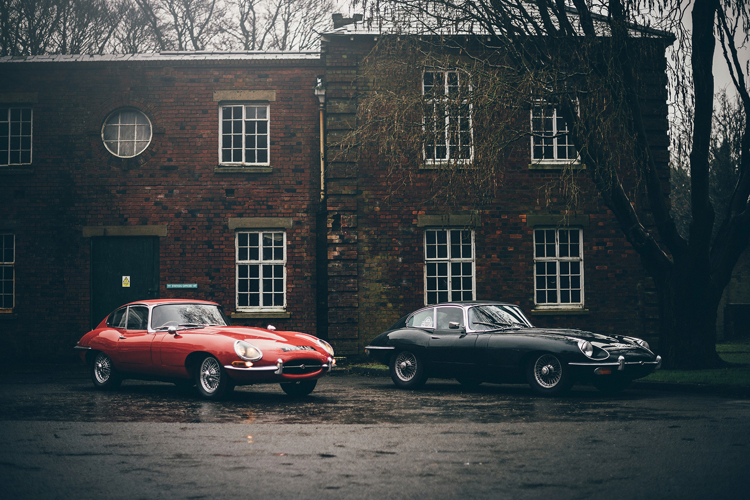 Два Jaguar E-Type