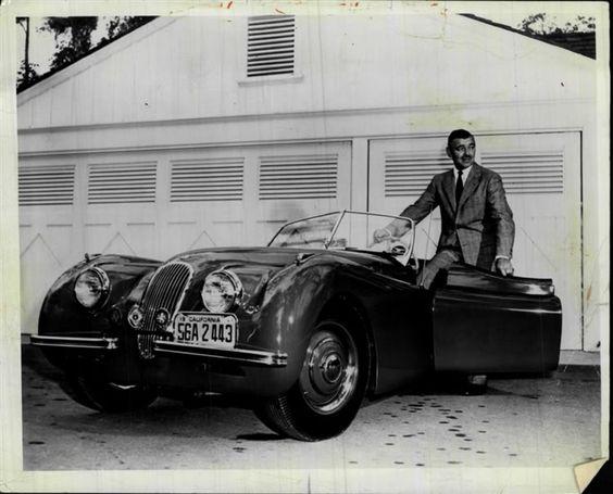 Jaguar XK120 Кларка Гейбла