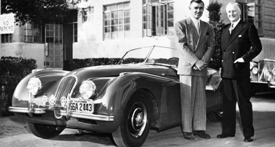 Герой-любовник из Голливуда и Jaguar XK120