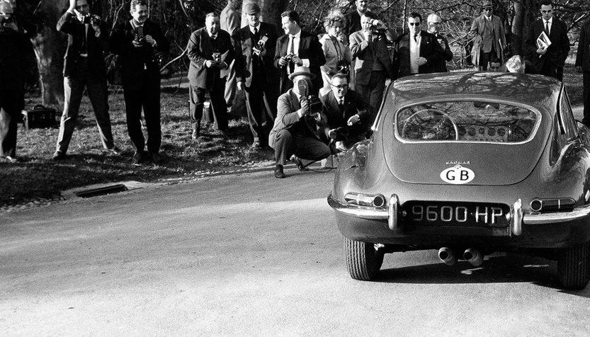 Jaguar E-Type - о динамике и статике