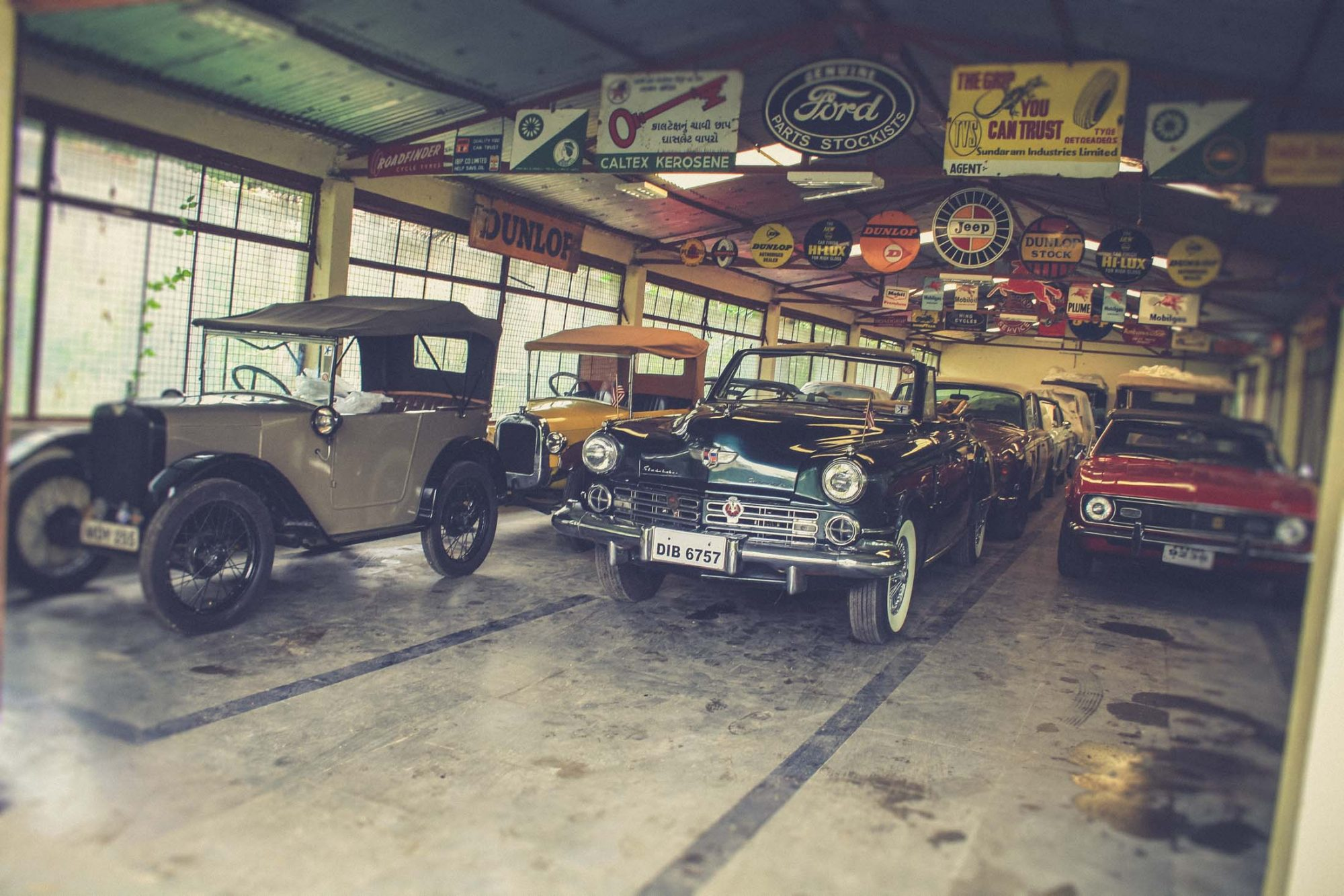 Коллекция автомобилей Ravi Praksh
