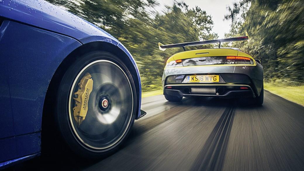 Aston и Jaguar