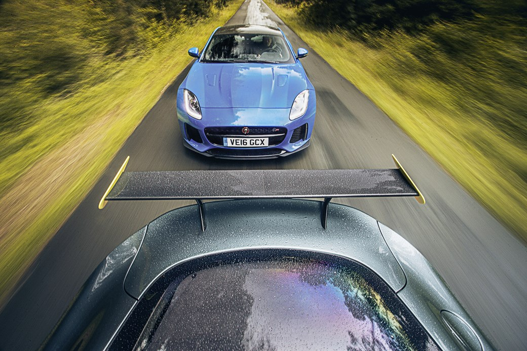 Jaguar и Aston Martin