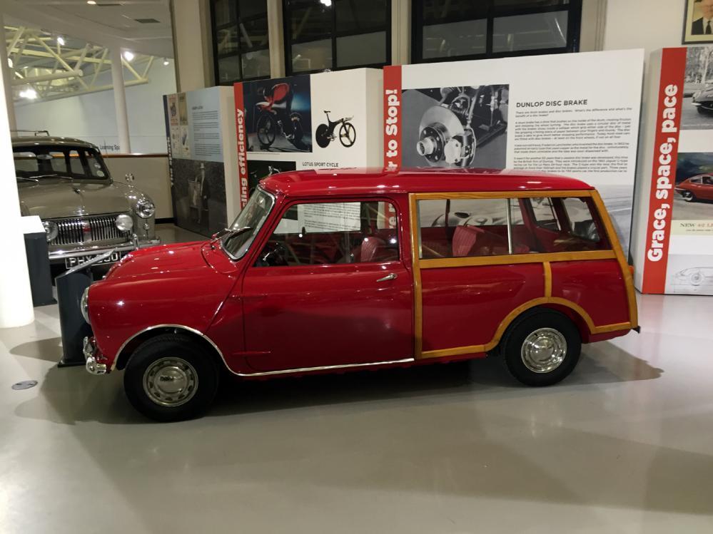 Mini Traveller принадлежавший лорду Маунтбеттону