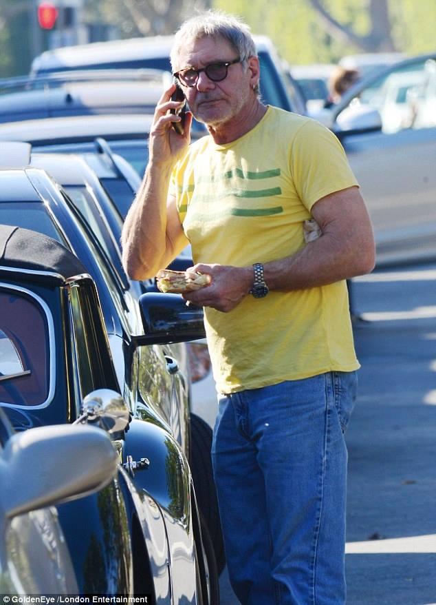 Harrison Ford и Jaguar XK140