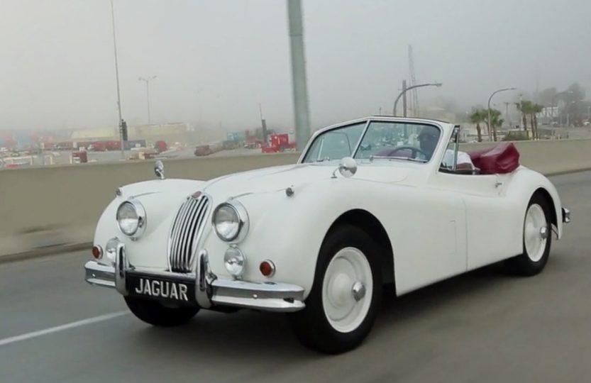 Из жизни Jaguar XK140 в Калифорнии