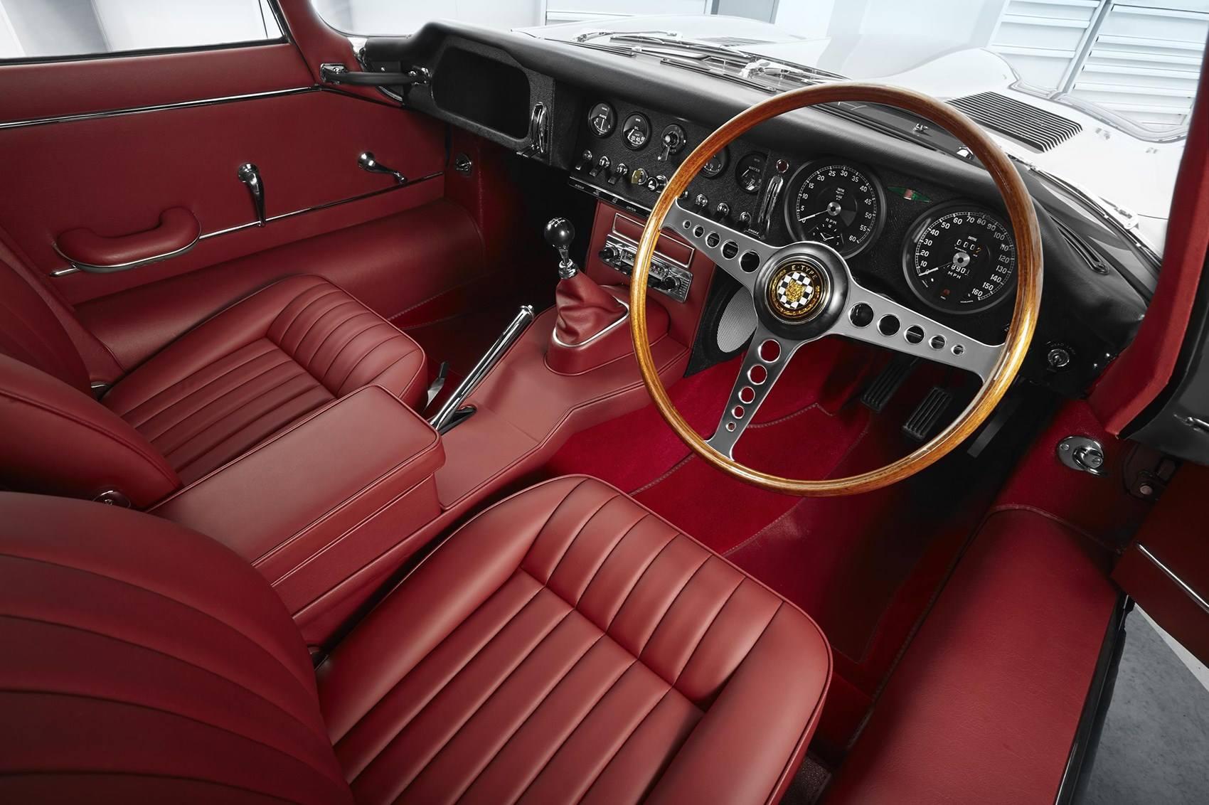 Реставрация Jaguar E-Type Series I