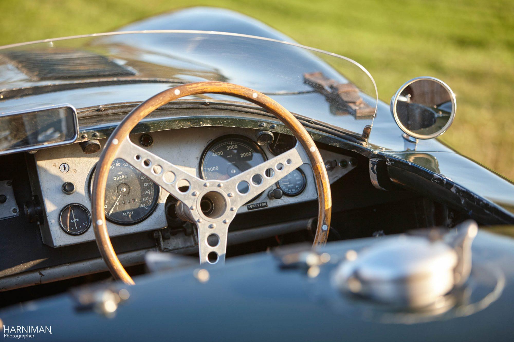Jaguar C-Type interior
