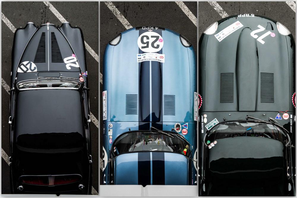 Фотографии Петры Саньяк с Mille Miglia
