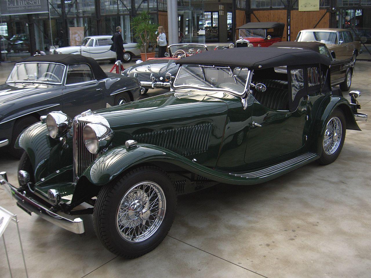 SS 1 - дебют Jaguar