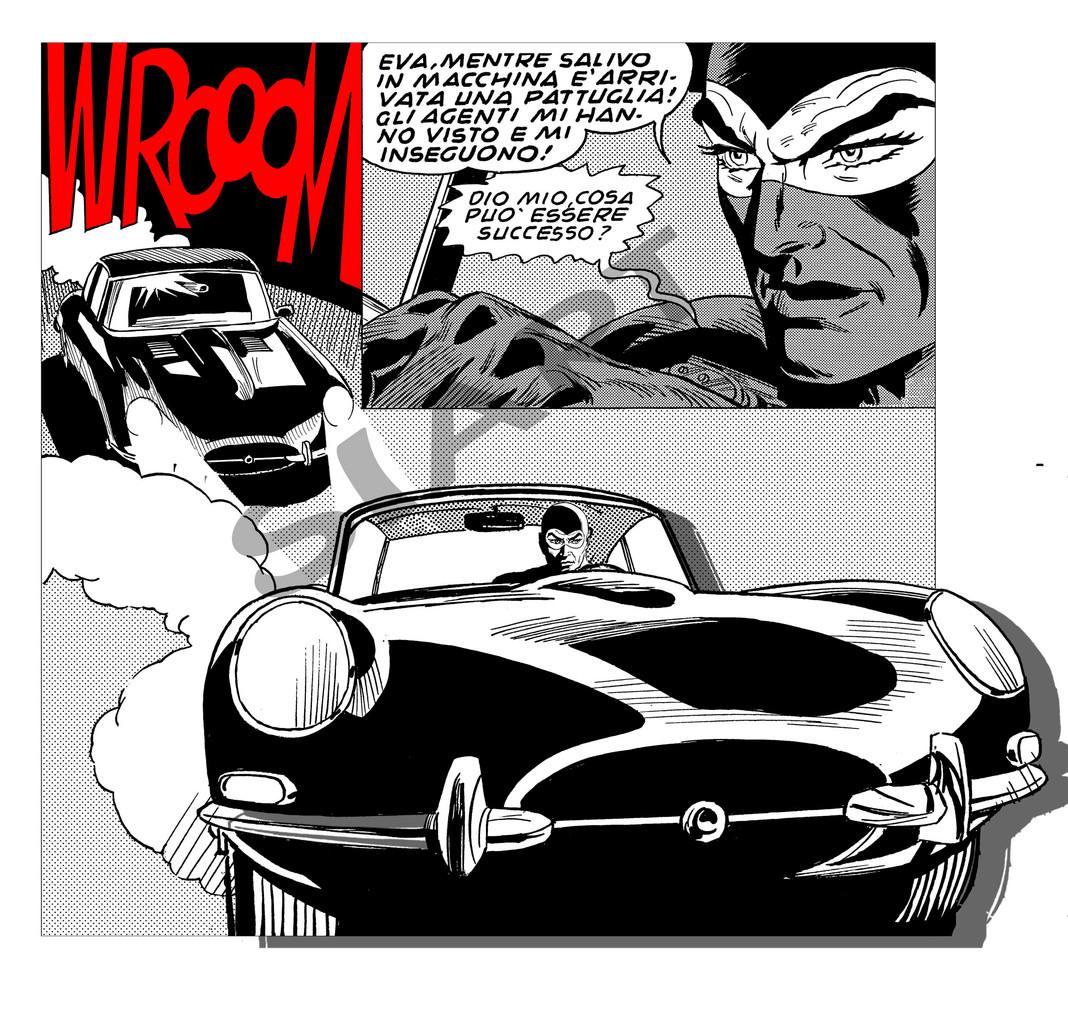 Комиксы Diabolik