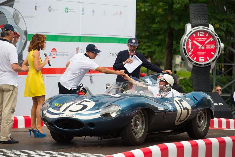 Jaguar на Mille Miglia