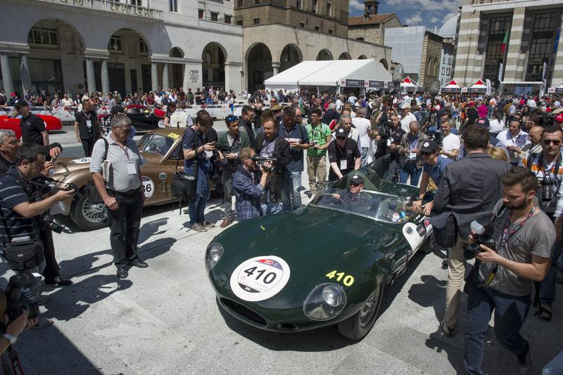 Jaguar D-Type на Mille Miglia 2017