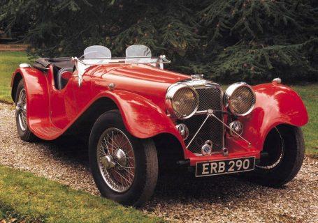 Jaguar 100 - первый автомобиль Уильяма Лайонса