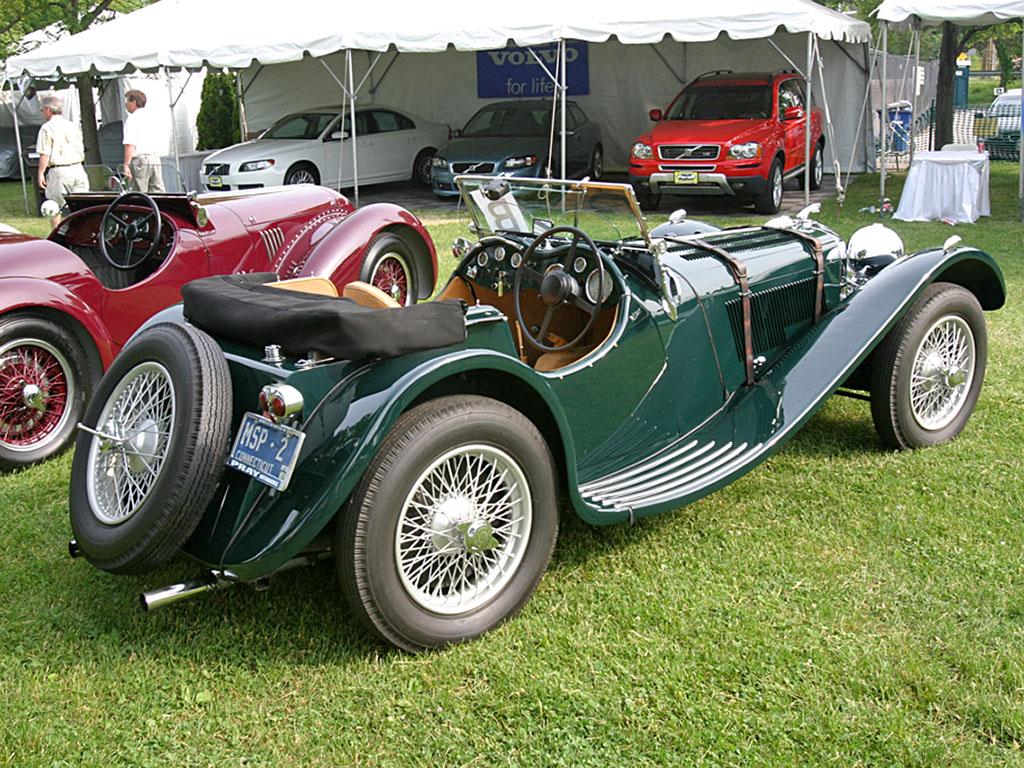 Автомобиль SS 100