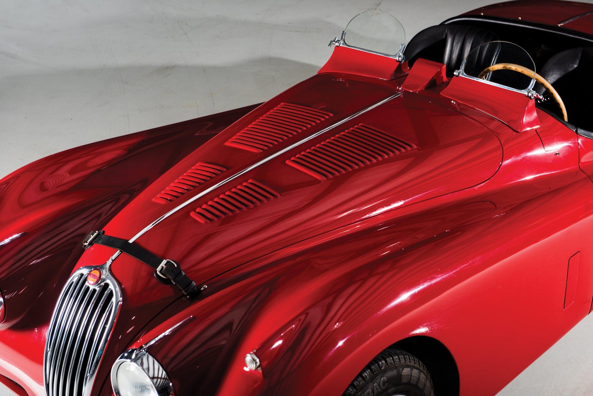 Родстер Jaguar XK140