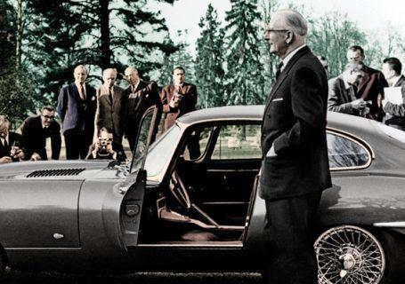 Уильям Лайонс представляет Jaguar E-Type