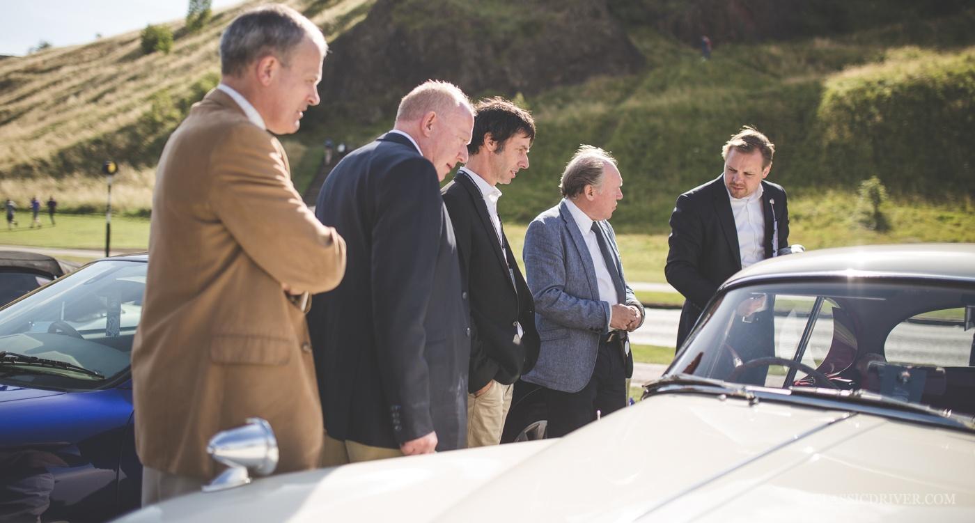 Эксперты Jaguar Trophy — Ян Каллум и Тим Хэннинг