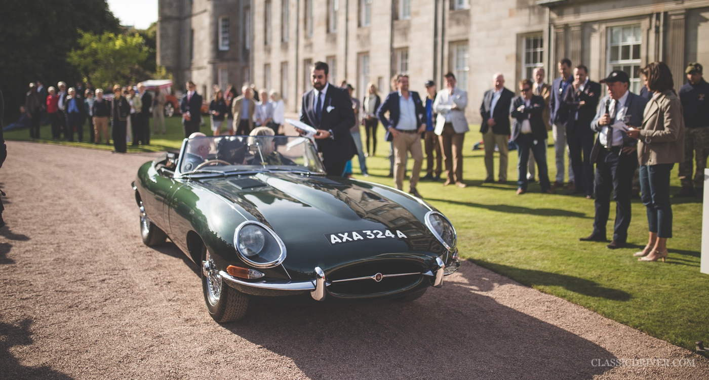 Jaguar E-Type — British Racing Green