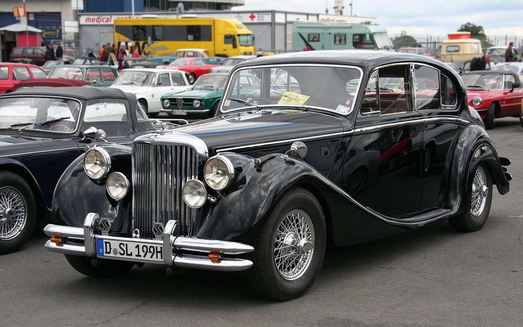 Кое-что о скромном Jaguar Mark V