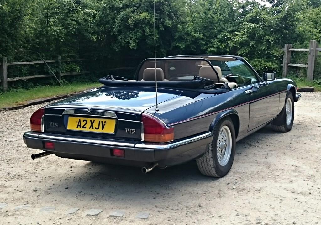 Кабриолет Jaguar XJS