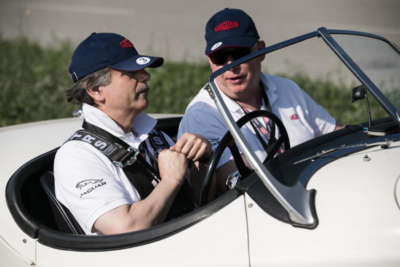 Ян Каллум и Ральф Шпет на Mille Miglia 2015