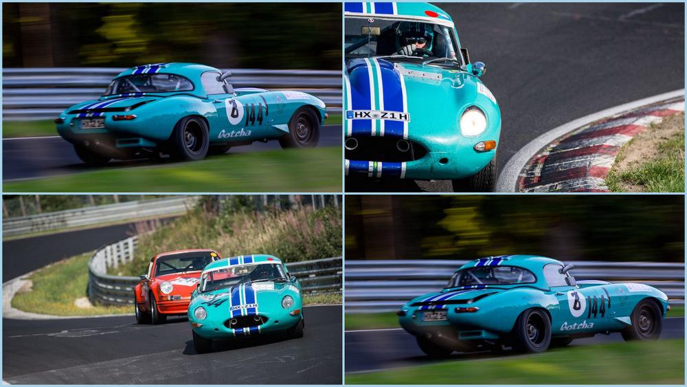 Автомобили Jaguar в Нюрбургринге