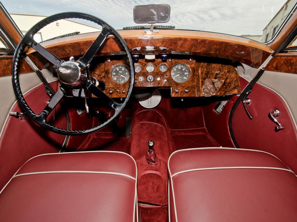 Салон Jaguar Mark V