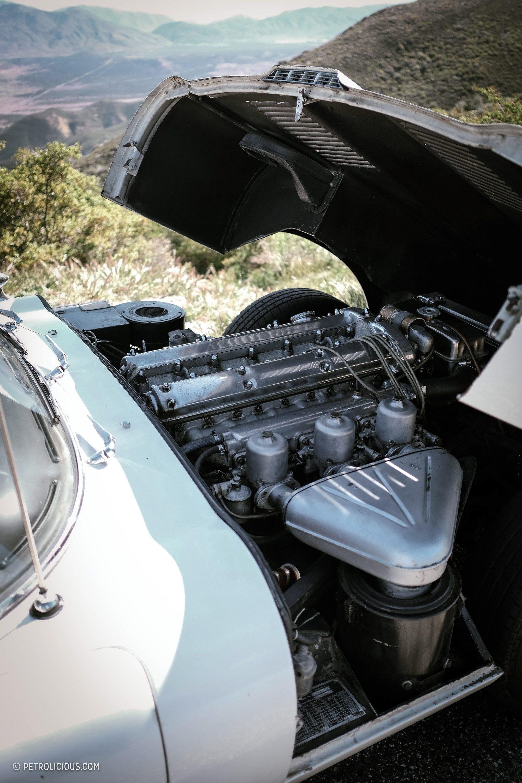 Двигатель Jaguar E-Type