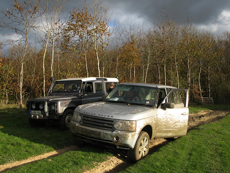 Полигон Land Rover