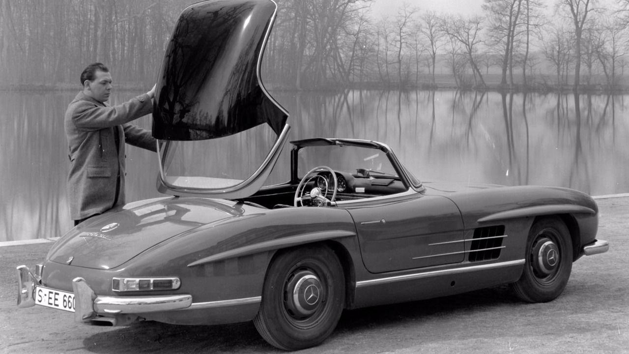 Родстэр Mercedes Benz