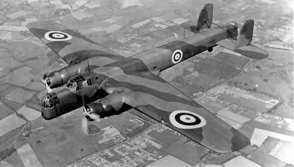 Бомбардировщик Whitley