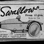 Газетная вырезка Swallow Sidecar model 4