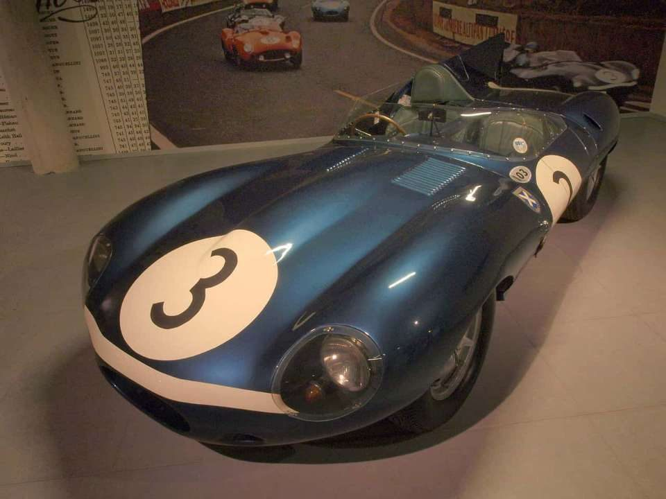Jaguar D-Type номер 3