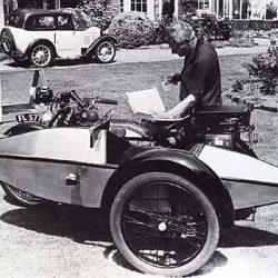 Ретро фото Swallow Sidecar model 4