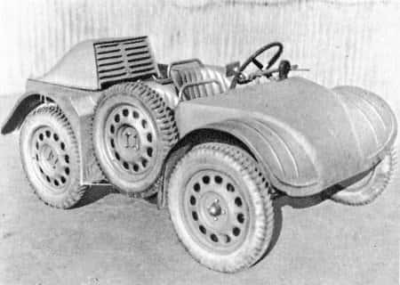 SS VA (Jeep-SS) разведывательный автомобиль Великобритании
